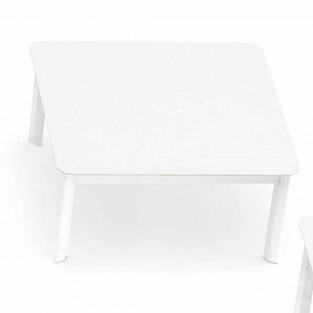 Dizajni tryezën e kafesë në natyrë në Sistemin e aluminit të pikturuar nga Varaschin