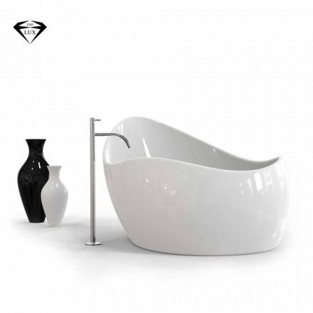 Ushqim Finger vaskë Solid Surface, me dizajn modern, i bërë në Itali