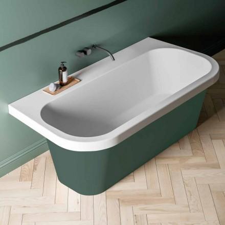 Vaskë me shkëlqim / vaskë me bicolor, Veshja moderne e lirë - Margex