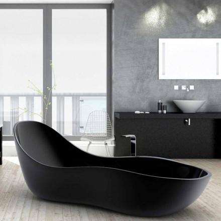 Varkë me vaskë me vijë të lirë, me dizajn modern, e bërë në Itali