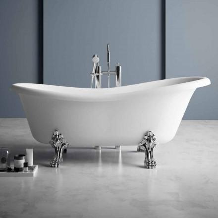 Vaskë pa këmbë, Dizajn Victorian në sipërfaqe të ngurtë - Shi