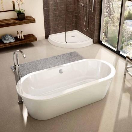 Vaskë moderne e bardhë e pavarur Prill 1800x830 mm