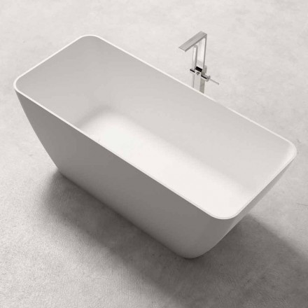 Dizajn modern Vaskë pa këmbë me shkëlqim ose Matt White - Fytyrë