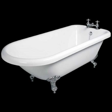 Dizajn vaskë e lirë në akrilik të bardhë 1770x795 mm