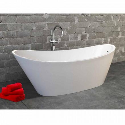 Vaskë moderne me dizajn modern Nataly, akrilik, vaskë e lirë, 1700x745mm
