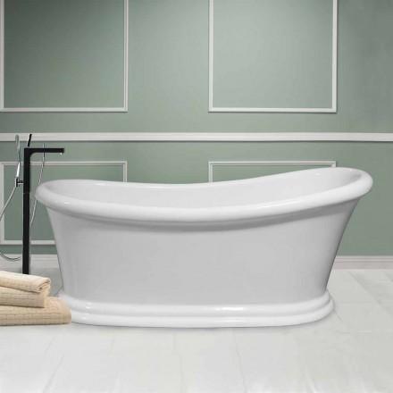 Vaskë moderne e bardhë e lirë në akrilik Dimër 1710x730 mm