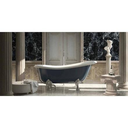 Dizajn klasik vaskë me rrëshirë blu të pavarur, Fregona e bërë në Itali