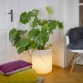 Vazo me ndriçim kopsht ose shtëpie, dizajn modern - Cilindrostar