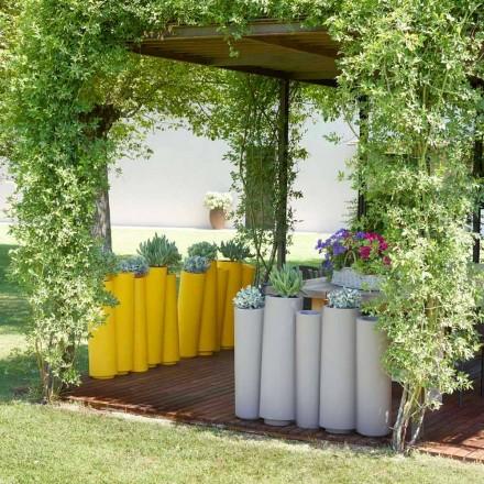 Vazo dekorative në natyrë me dizajn modern Slide Bamboo, prodhuar në Itali
