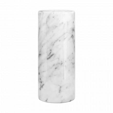 Vazë dekorative me mermer të bardhë Carrara e bërë në Dizajn të Italisë - Nevea