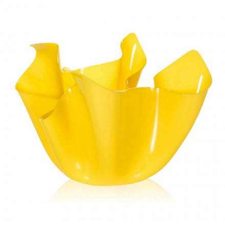 Dizajni modern pusi i jashtëm / shtëpia Pina, fund i verdhë, i bërë në Itali