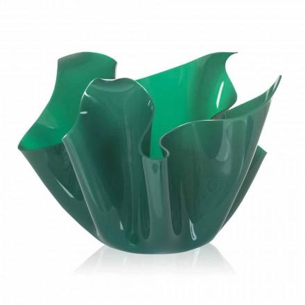 Dizajn modern tenxhere e jashtme / shtëpie Pina, fund jeshil, i bërë në Itali