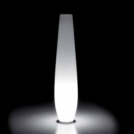 Vazo me shkëlqim në natyrë me dritë LED në polietileni prodhuar në Itali - Nadai