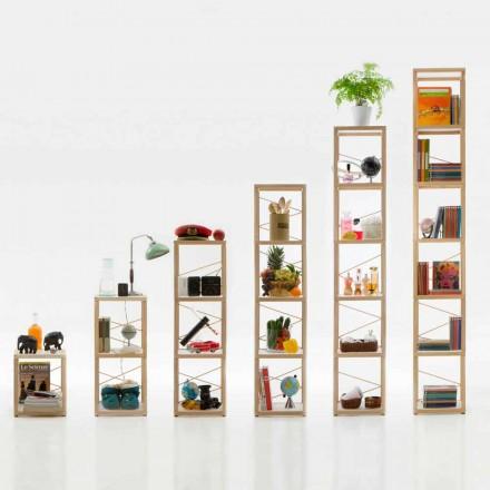 Dizajni modular i rafteve të librave Zia Babele Le Torri